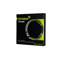 Simple Case Wireless Charging Round 1A Black
