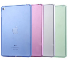 Kisscase Transparent Soft TPU Silicone Cover Green for iPad mini 4