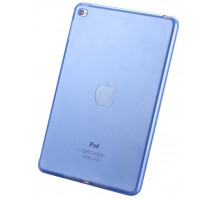 Kisscase Transparent Soft TPU Silicone Cover Light Blue for iPad mini 4