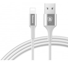 Baseus Shining Cable With Jet Metal Lightnin to USB 1m Silver