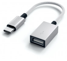 Satechi Type-C to Type-A Cabled Adapter Silver (ST-TCCAS)