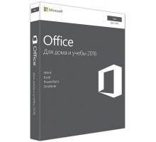 Microsoft Office Mac Home and Student 2016 Russian Medialess P2 (GZA-00943)