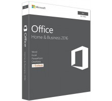 Microsoft Office Mac Home and Business 2016 English 1PK Medialess (W6F-00855)