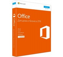 Microsoft Office Mac Home and Business 2016 Russian 1PK Medialess (W6F-00878)