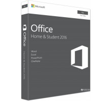 Microsoft Office Mac Home and Student 2016 English Medialess P2 (GZA-00997)