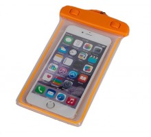Baseus Waterproof Case Orange for 5.5-inch Smartphones