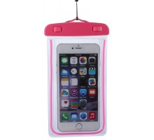 Baseus Waterproof Case Rose Red for 5.5-inch Smartphones