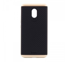 iPaky TPU+PC Black/Gold for Meizu M5 Note