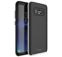 iPaky TPU+PC for Samsung G950 Galaxy S8 Black/Silver