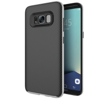 iPaky TPU+PC for Samsung G955 Galaxy S8 Plus Black/Gray
