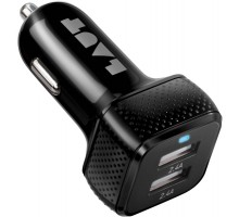 Laut Power Dash 4.8 Black (2x12W USB 2,4A) (LAUT_PD02_BK)
