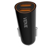 Vidvie CC505 with Lightning Fast Charge 2.4A Black