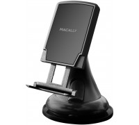 Macally Car Windshield and Dashboard Mount with Magnetic Holder (MGRIPMAG)