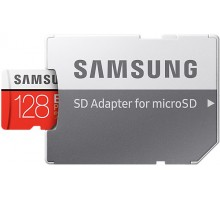 Samsung microSDXC 128GB EVO Plus Class 10 UHS-I U3 + SD Adapter (MB-MC128GA/RU)