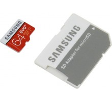 Samsung microSDXC 64GB EVO Plus Class 10 UHS-I + SD Adapter (MB-MC64DA)