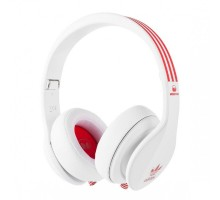 Monster Adidas Originals Limited Over-Ear White and Red over White