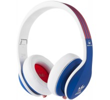 Monster Adidas Originals Limited Over-Ear Blue and Red over White
