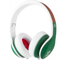 Monster Adidas Originals Limited Over-Ear Green and Red over White