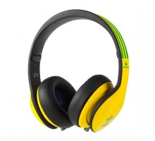 Monster Adidas Originals Limited Over-Ear Yellow and Green over Black