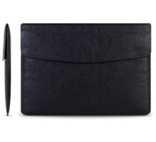 Cartinoe Leather Case Sleeve for MacBook 13 Black