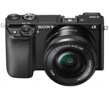 Sony Alpha A6000 kit (16-50mm) Black
