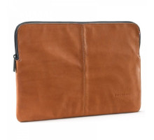 Decoded Leather Slim Sleeve with Zipper for MacBook 12 Brown (D4SS12BN)