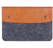 Gmakin Sleeve Brown GM03 for MacBook Pro 13 Retina