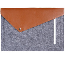 Gmakin Sleeve Gray/Brown GM12 for MacBook Pro 13 Retina
