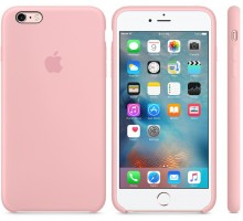 Apple iPhone 6s Plus Silicone Case Pink (high copy)