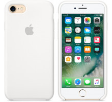 Apple iPhone 7/8 Silicone Case White (high copy)