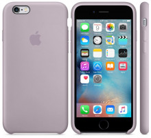 Apple iPhone 6S Silicone Case Lavender (high copy)