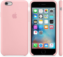 Apple iPhone 6S Silicone Case Pink (high copy)