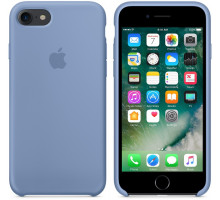 Apple iPhone 7/8 Silicone Case Azure (high copy)