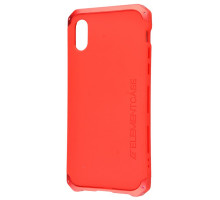 Element Case Solace Red for iPhone X (high copy)