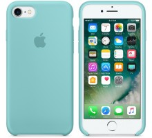 Apple iPhone 6S Plus Silicone Case Sea Blue (high copy)