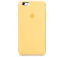 Apple iPhone 6s Plus Silicone Case Yellow (MM6H2)