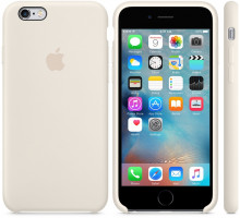 Apple iPhone 6S Silicone Case Antique White (high copy)