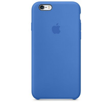 Apple iPhone 6s Silicone Case Blue Cobalt (high copy)