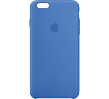 Apple iPhone 6S Silicone Case Bright Blue (high copy)