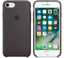 Apple iPhone 6S Silicone Case Cocoa (high copy)