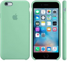 Apple iPhone 6S Silicone Case Mint Gum (high copy)