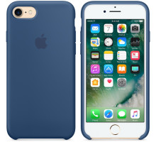 Apple iPhone 6S Silicone Case Ocean Blue (high copy)