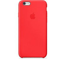 Apple iPhone 6S Silicone Case Red (high copy)