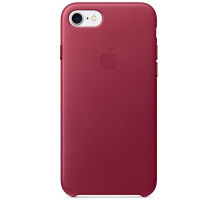 Apple iPhone 7 Leather Case Berry (MPVG2)