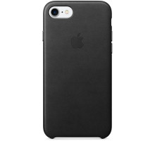 Apple iPhone 7 Leather Case Black (MMY52)