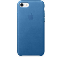 Apple iPhone 7 Leather Case Sea Blue (MMY42)