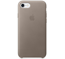 Apple iPhone 7 Leather Case Taupe (MPT62)