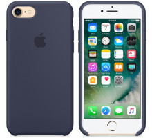 Apple iPhone 7/8 Silicone Case Midnight Blue (high copy)