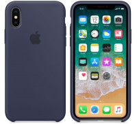 Apple iPhone X Silicone Case Midnight Blue (like orig)