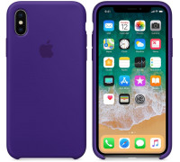 Apple iPhone X Silicone Case Ultra Violet (like orig)